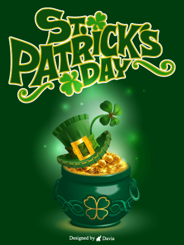 Pot Of Gold – St. Patrick's Day Cards