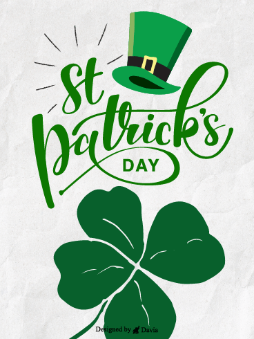 Mark Your Calendars – St. Patrick's Day Cards