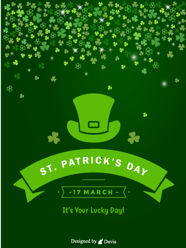 Your Lucky Day – St. Patrick's Day Cards