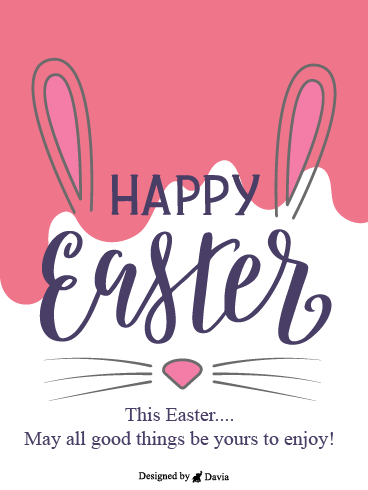 Happy Bunny – Easter Day Cards