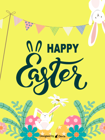 Summer Celebration – Easter Day Cards