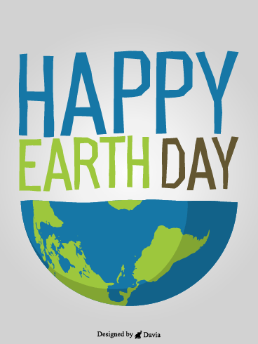 Half A Globe – Earth Day Cards