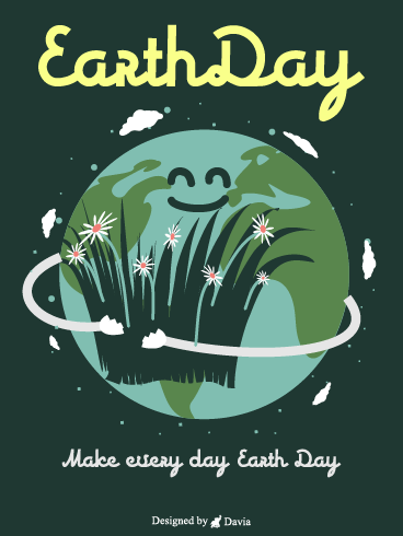 Green Earth – Earth Day Cards