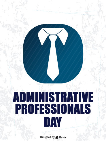 Tie It Up! – Happy Administrative Professionals Day Cards