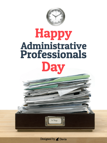 Stacks & Stacks – Happy Administrative Professionals Day Cards