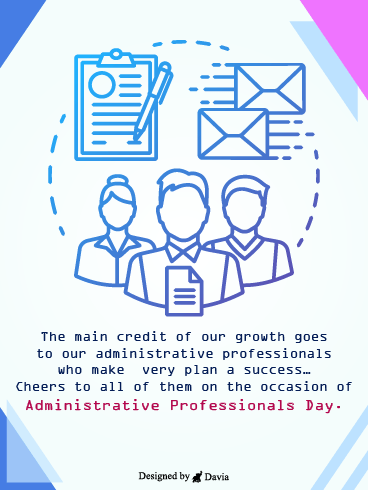 The Working Cycle – Happy Administrative Professionals Day Cards