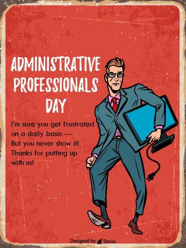 Super Professional – Happy Administrative Professionals Day Cards