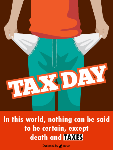 Empty Pockets – Tax Day Cards