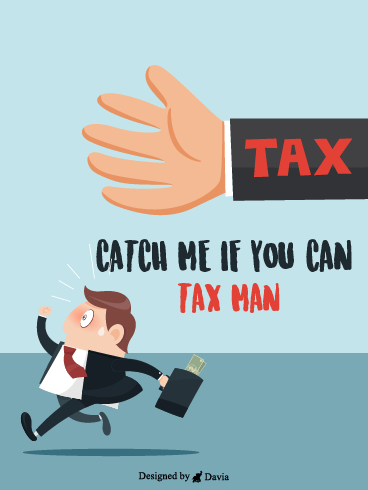 Catch Me – Tax Day Cards