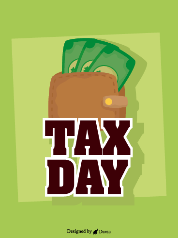 Full Wallet – Tax Day Cards