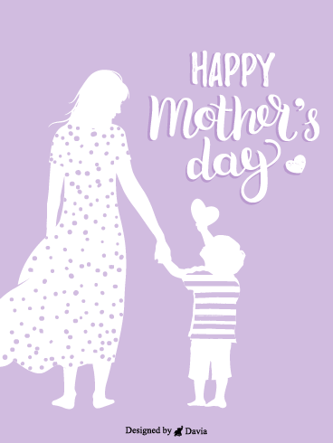 Mother & Son – Happy Mothers Day Cards