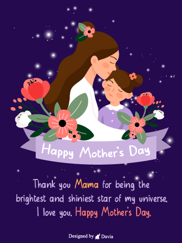 Brightest Star – Happy Mothers Day Cards