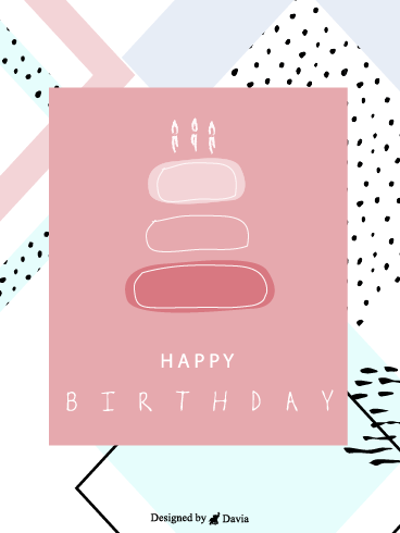 Artsy Birthday – Newly Added Birthday Cards