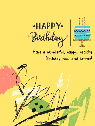 Sweet Birthday – Newly Added Birthday Cards