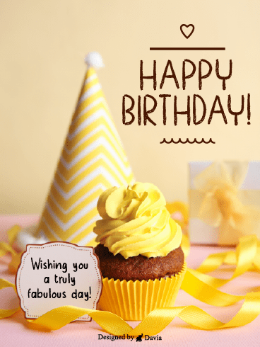 Cutie Cupcake – Newly Added Birthday Cards
