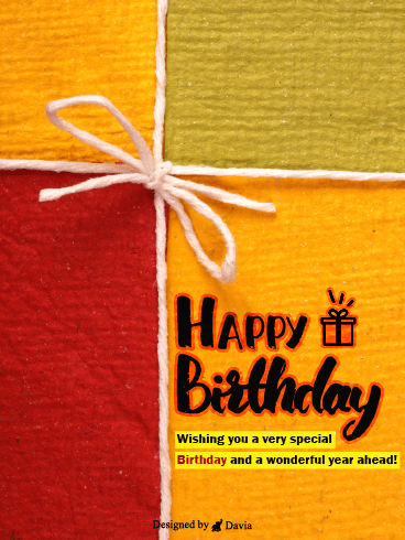 Wonderful Birthday– Newly Added Birthday Cards