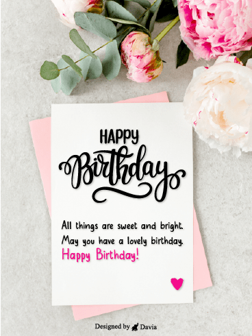 Flowers For Birthdays – Newly Added Birthday Cards
