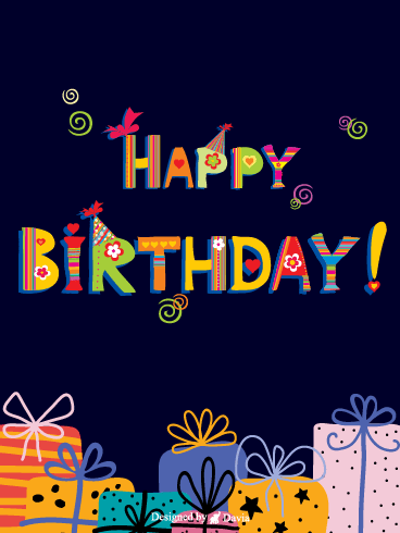 Joyful Birthday  – HB Newly Added Cards