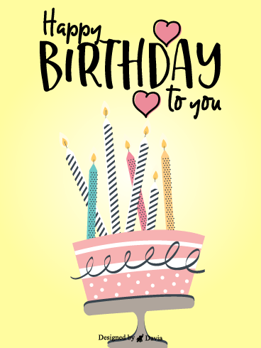 Happy Birthday to You  – HB Newly Added Cards