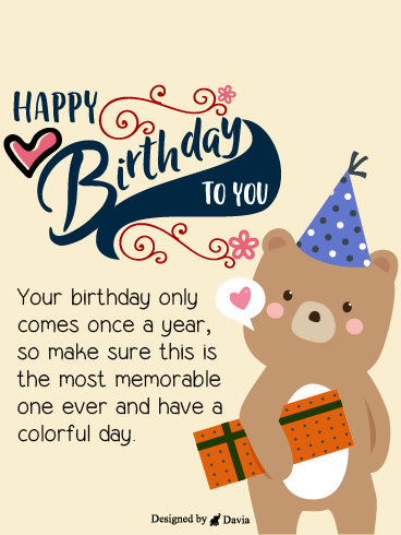 Cute Bear  – HB Newly Added Cards