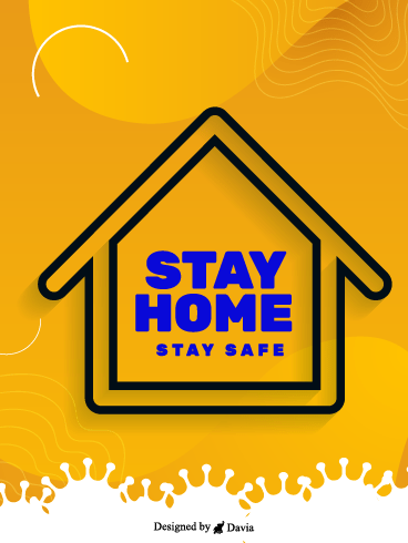 Stay Safe– Stay at Home Cards