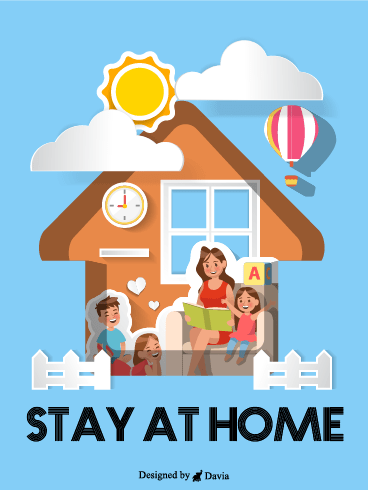 We Will Win – Stay at Home Cards