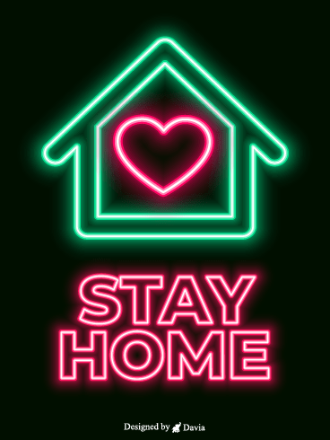 Together – Stay at Home Cards