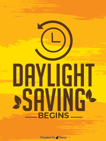 Sunset - Daylight Time Saving Begins