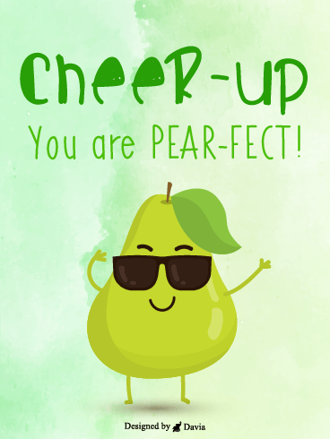 Pear-Fect  – Cheer Up Cards