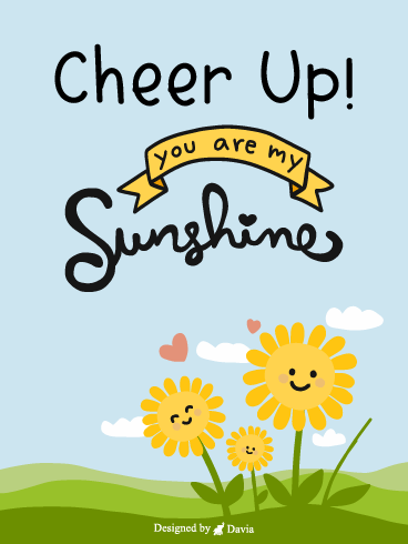 Sunshine  – Cheer Up Cards