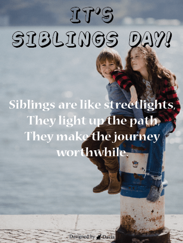 Light The Path - Siblings Day