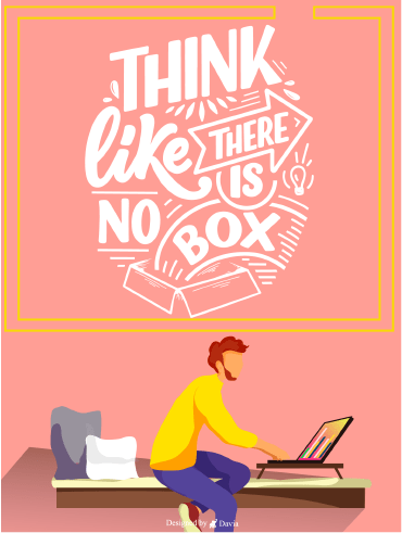 There's No Box - Positive Quote