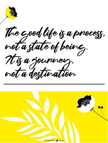 A Process, A Direction - Positive Quote