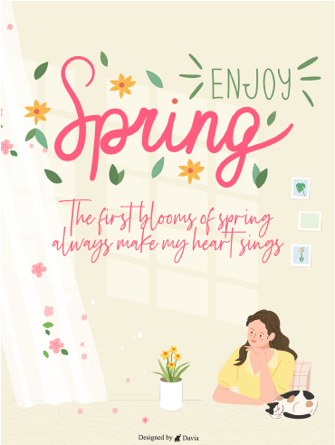 Enjoy Spring – Spring Day