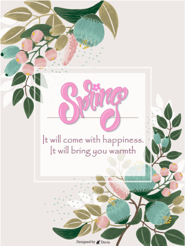 Happiness Will Come  – Spring Day