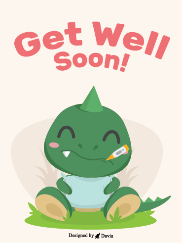 Happy Dino – Get Well Soon Newly Added Cards