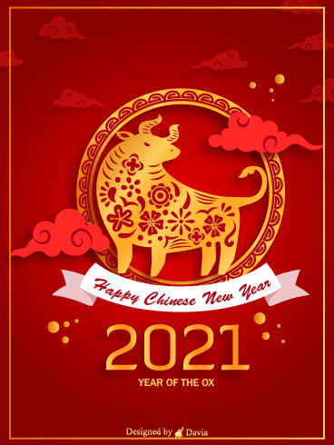 Ox In The Clouds  – Happy Chinese New Year