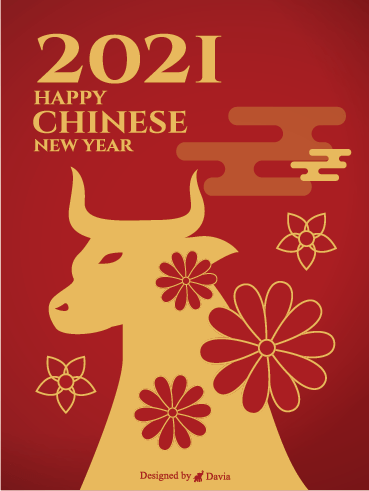 Year of the Ox - Chinese New Year Cards