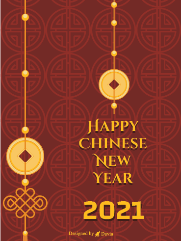 Happy Chinese New Year 2021 - Chinese New Year Cards