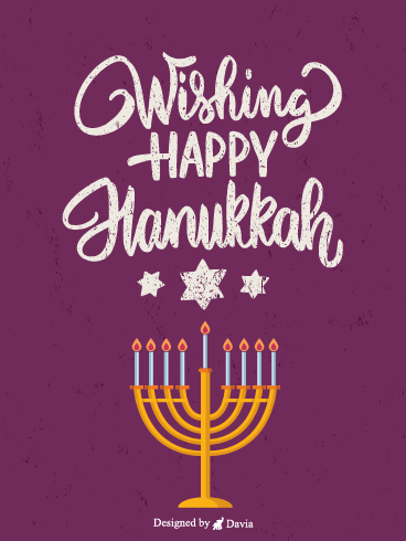 Wisdom of Hanukkah – Happy Hanukkah Cards