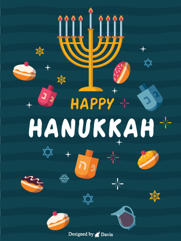 Cute Hanukkah – Happy Hanukkah Cards