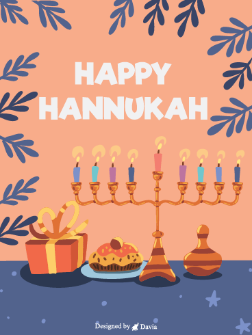 Dedication – Happy Hanukkah Cards