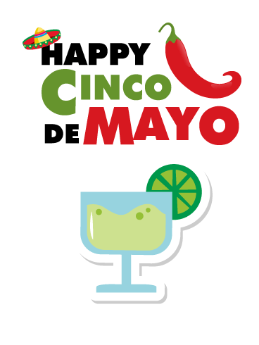 Cinco de Mayo Margarita & Chili Card