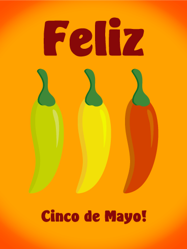 Cinco de Mayo Chili Pappers Card