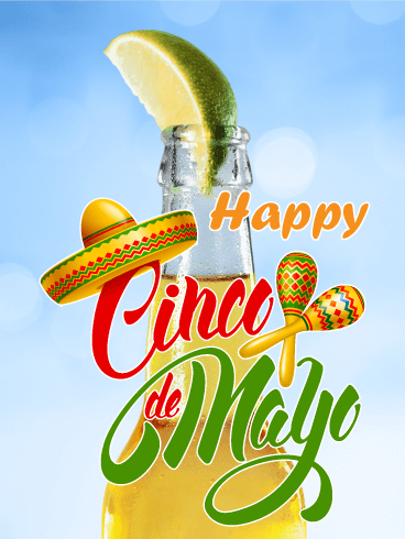 Cheers! Cinco de Mayo Card