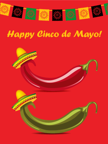 Time to Celebrate! Cinco de Mayo Card
