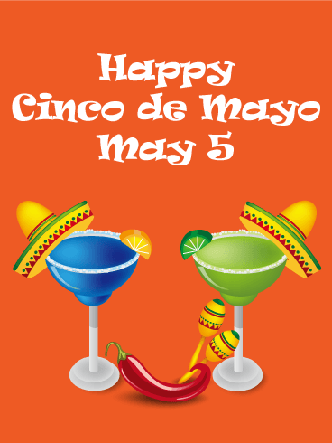 Time for Margaritas - Cinco de Mayo Card