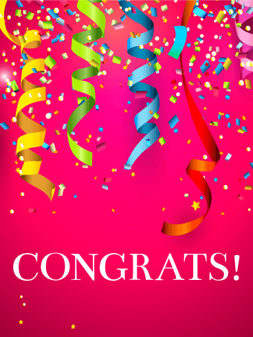Big Celebration! Congratulations Card