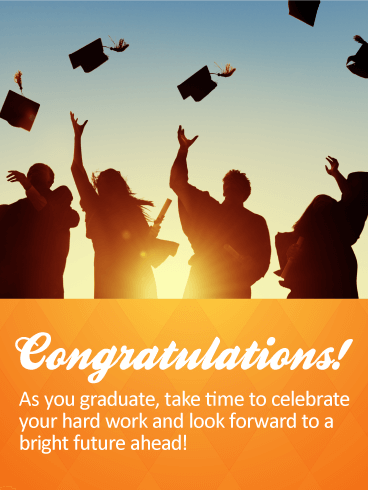 Take Time to Celebrate! Graduation Cards