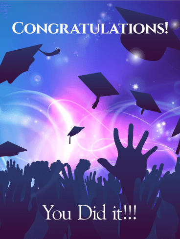 Time to Celebrate! Graduation Card